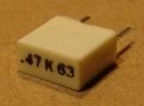 470nF, 63V, kondenzátor