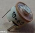 10-60pF, trimmer kondenzátor