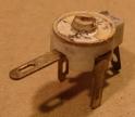 5-25pF, trimmer kondenzátor