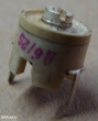 6-25pF, trimmer kondenzátor