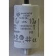 10uF, indító kondenzátor