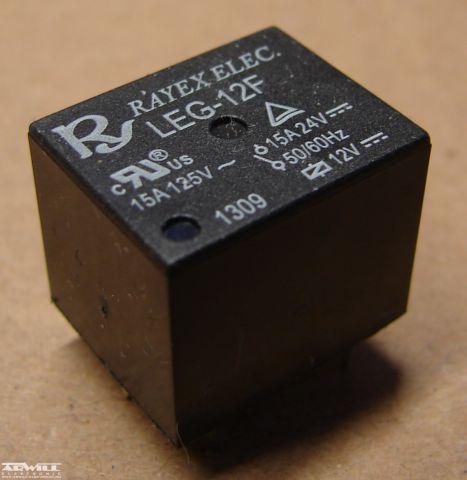 LEG-12F relé, 12V, 15A