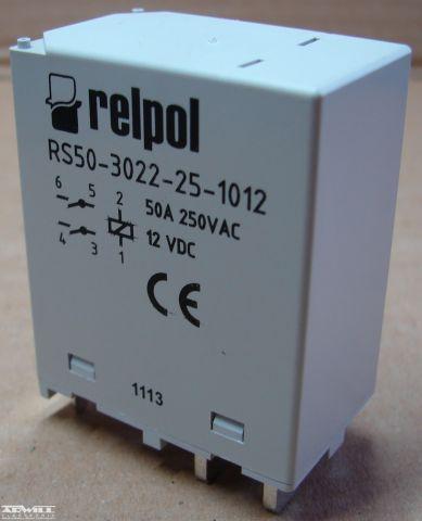 RS50-3022-25-1012 relé, 12V, 50A