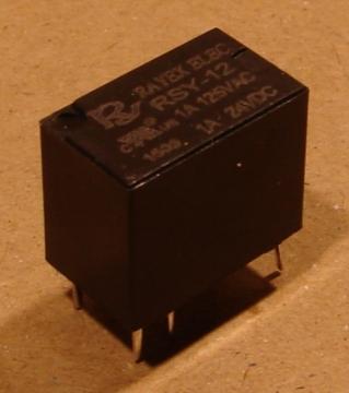 RSY-12 relé, 12V, 1A