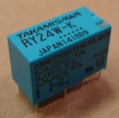 RY24W-K relé, 24V, 2x1A