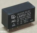 LMR2-3D relé, 3V, 2x5A