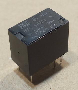 HRB1-S-DC5V relé, 5V, 1A