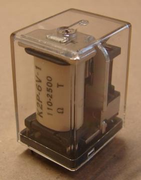 K2P-6V-1 relé, 6V, 2x1A