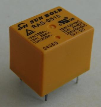 RAS-0515 relé, 5V, 15A