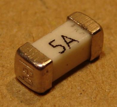 5A, SMD biztosíték