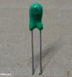 15uF, 10V, tantál kondenzátor
