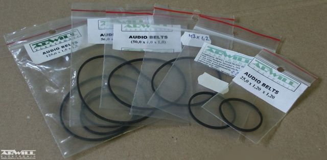 26,5mm, audioszíj