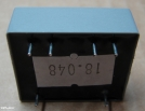 0,6VA, 2x6V, transzformátor