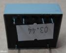 0,6VA, 2x9V, transzformátor