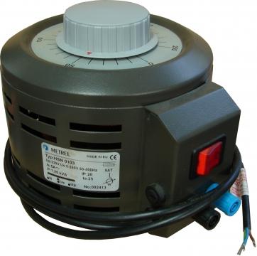 1250VA, 0-250V, transzformátor