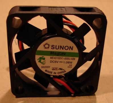 ME40100V1-A99, ventilátor