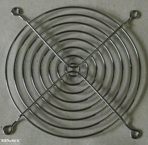 120x120, ventilátor rács