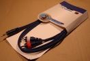 3,5 jack - 2 RCA kábel, 1,5m