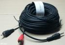 3,5 jack - 2 RCA kábel, 5m