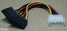 ATX / 2 x SATA tápkábel