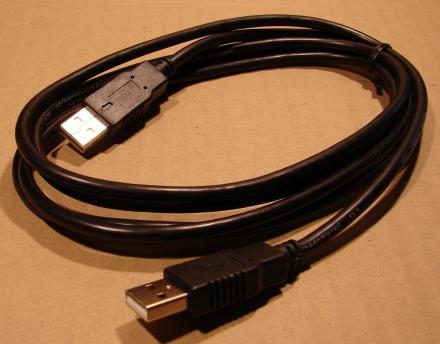 USB A - A kábel, 1,8m