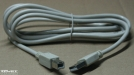 USB A - B kábel, 1,8m