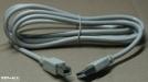 USB A - B kábel, 3m