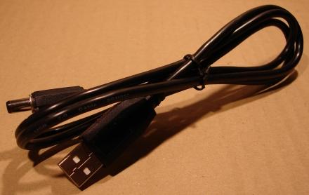 USB A tápkábel, 1,8m