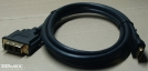 HDMI - DVI kábel, 2,5m