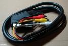 Scart - 4 RCA kábel, 1,5m